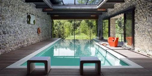 Minimalistički dizajn bazena
