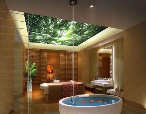 Moderno opremljeno kupatilo