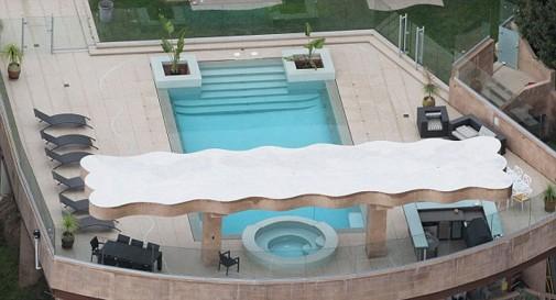 Moderno uređen bazen