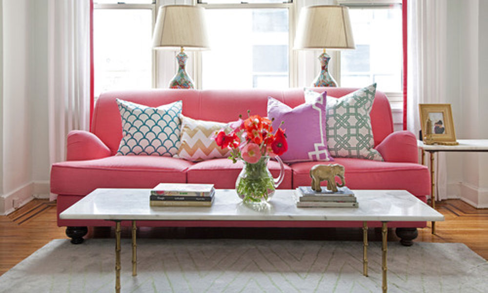 Pink Sofa Living Room.Simple Pink Sofa Pillows For Living Room ...