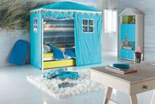 Plavi šator za dečaka