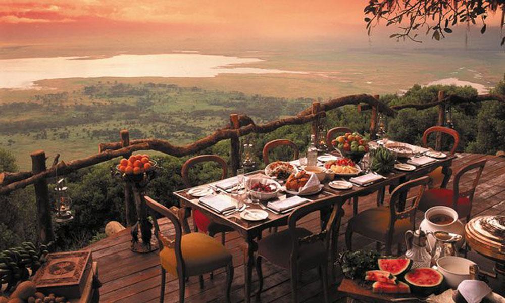 Pogled iz restorana