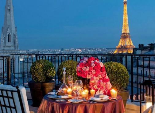Pogled sa balkona