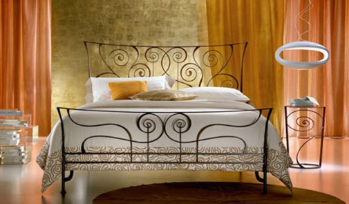 Savremeni krevet od kovanog gvožđa