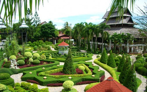 U bašti se nalazi najbolji izbor orhideja na Tajlandu
