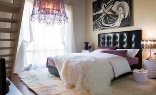 Umetnička spavaća soba
