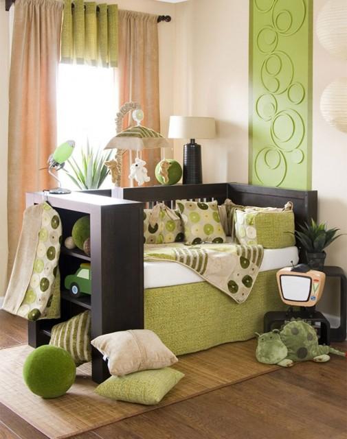 Zeleni elementi u sobi