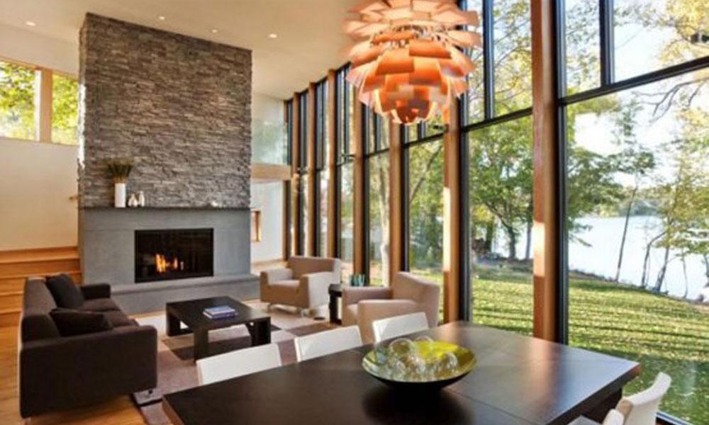 Dnevne sobe inspirisane prirodnim pogledom