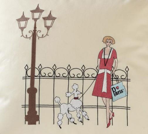Jastuci sa vezenim motivima Pariza