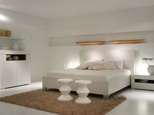 Jednostavna bela soba