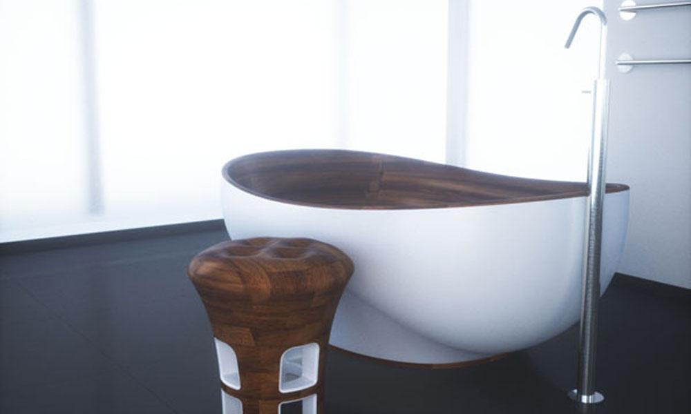 Kashani kolekcija kupatila od drveta