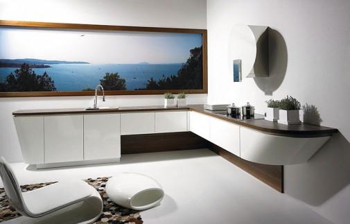 Kuhinja u obliku broda slika2