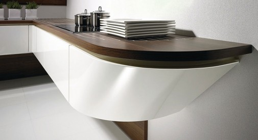 Kuhinja u obliku broda slika5