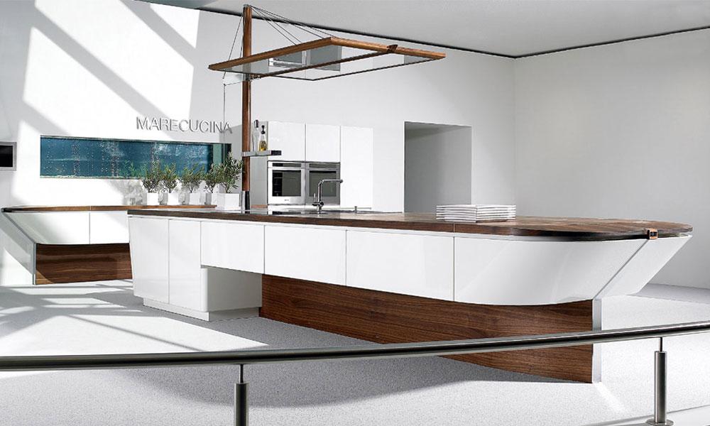Kuhinja u obliku broda