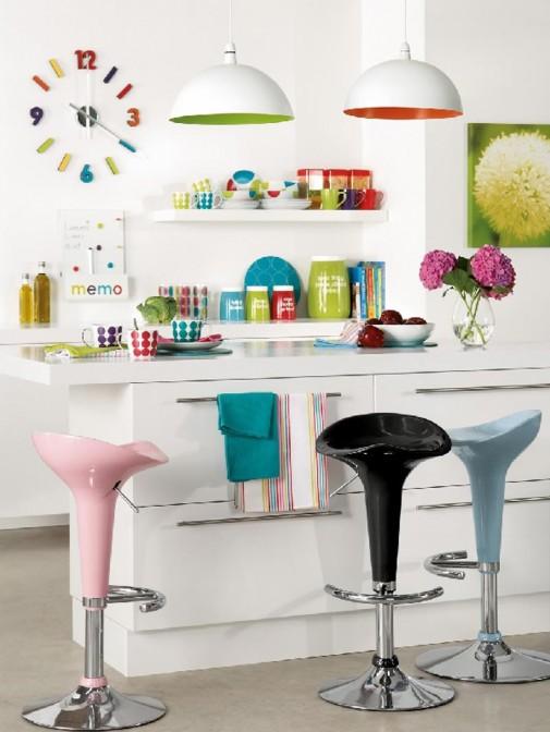 Kuhinjski detalji u jarkim bojama