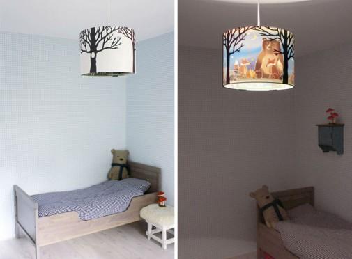 Lampa sa životinjskim motivima