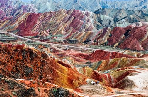 Planinski reljef u Kini slika2