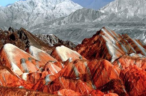 Planinski reljef u Kini slika3