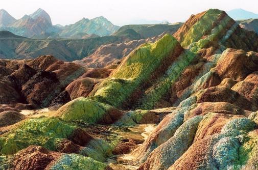 Planinski reljef u Kini slika6