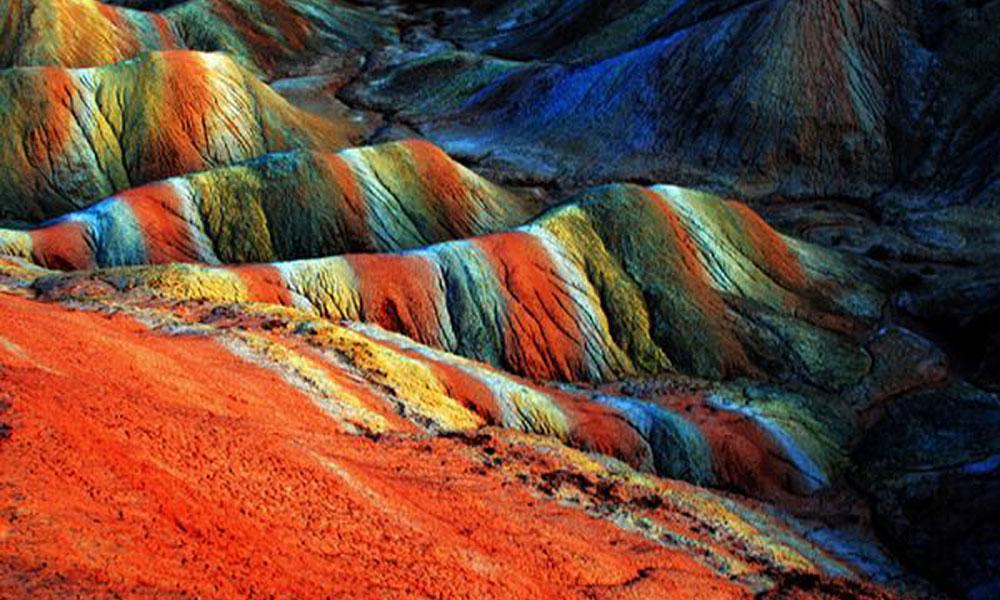 Planinski reljef u Kini