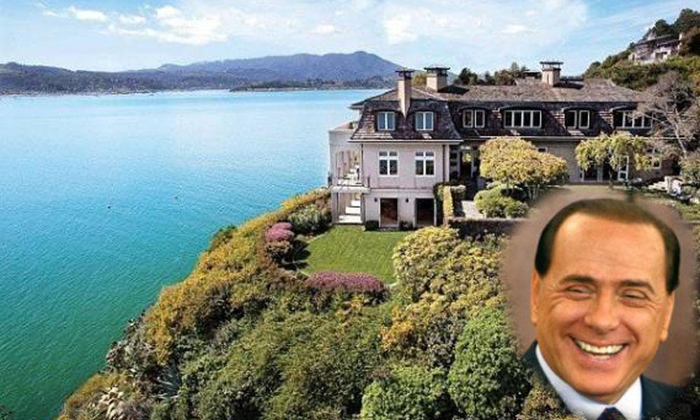 Raskošne rezidencije bivšeg italijanskog premijera