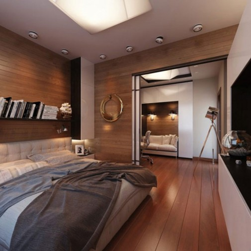 Spavaća soba za ljubitelje putovanja slika3
