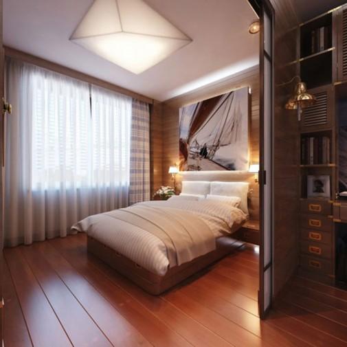 Spavaća soba za ljubitelje putovanja slika5