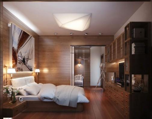 Spavaća soba za ljubitelje putovanja slika6