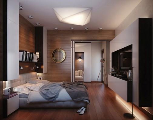 Spavaća soba za ljubitelje putovanja slika7