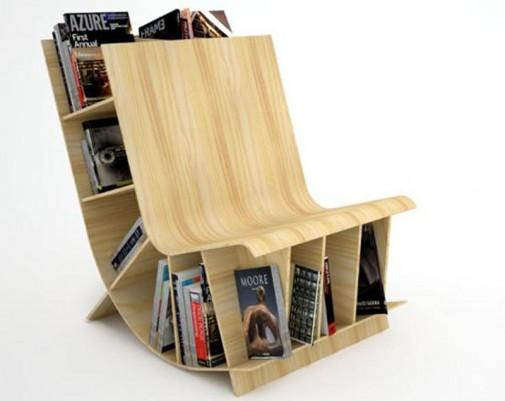 Stolica-polica za knjige