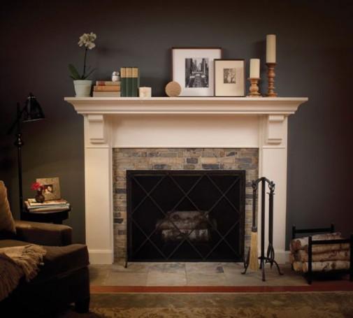 Kamin je element koji unosi toplinu