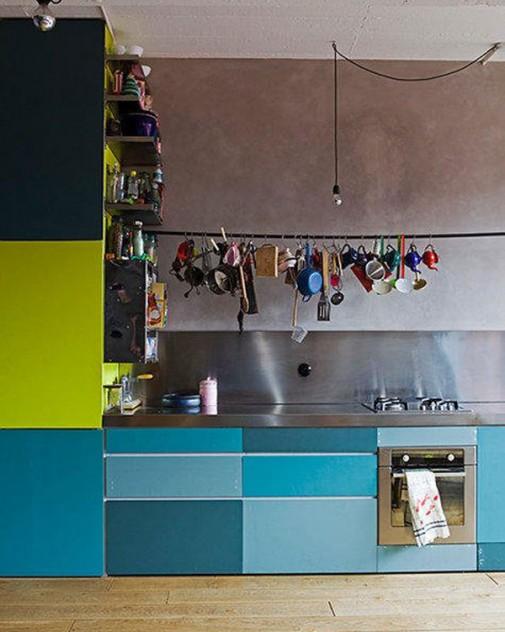 Kuhinje u ludim bojama slika9
