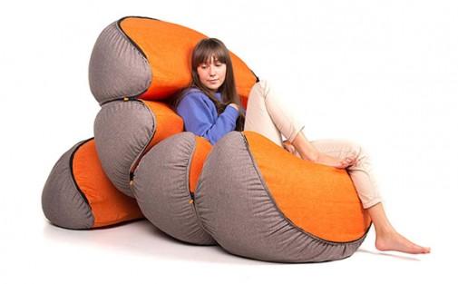 Mandarin fotelja slika5