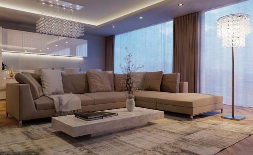 Moderna dnevna soba slika2