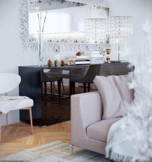 Moderna dnevna soba slika7
