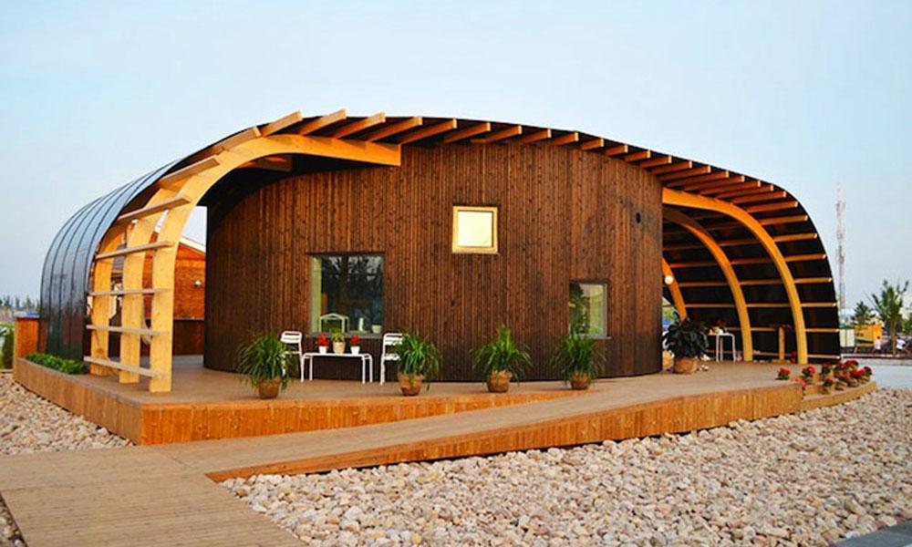 Moderna kuća na solarnu energiju