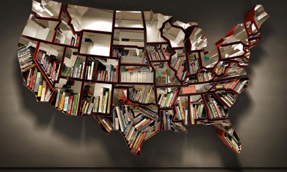 Neobične police za knjige
