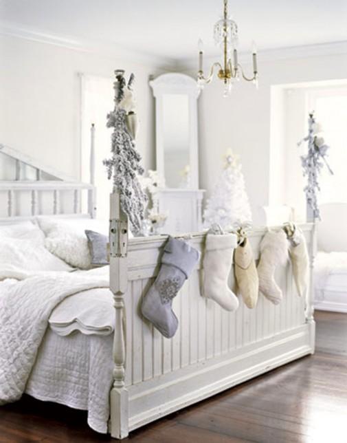 Praznična atmosfera u spavaćoj sobi