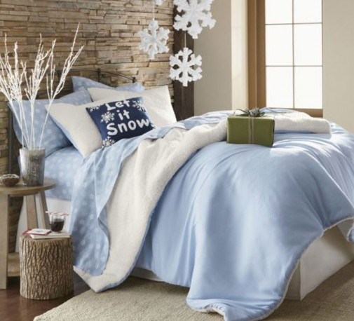 Praznična atmosfera u spavaćoj sobi slika3