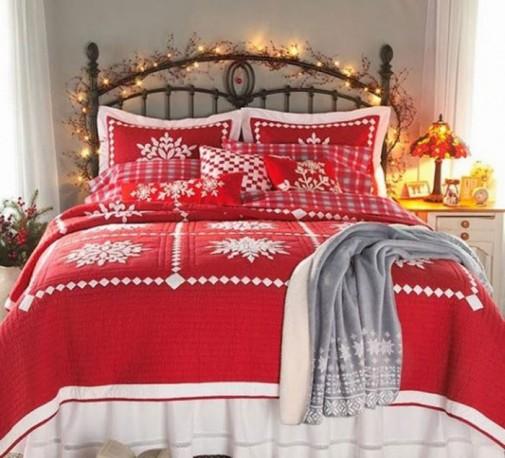 Praznična atmosfera u spavaćoj sobi slika4