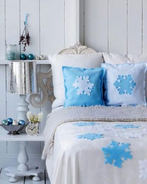 Praznična atmosfera u spavaćoj sobi slika6