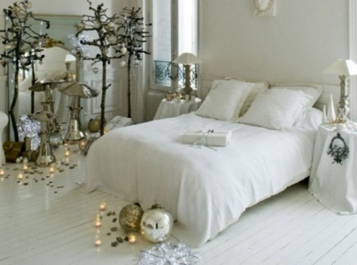 Praznična atmosfera u spavaćoj sobi slika7