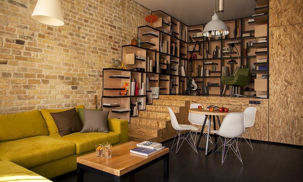 Dizajn stana u Kijevu baziran na ideji konstantnog kretanja   BravaCasa Mag...