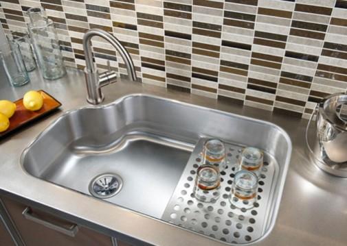Sudopera od nerđajućeg čelika sa cediljkom
