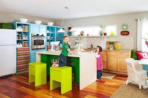 Kuhinje u ludim bojama slika3