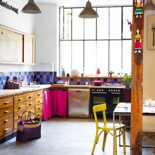 Kuhinje u ludim bojama slika4