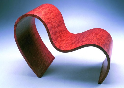 Ribbon chair side