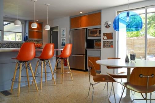 Barske stolice u kuhinji slika 2