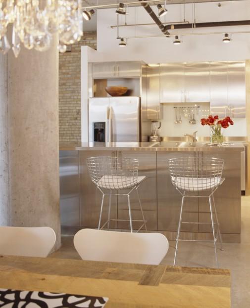 Barske stolice u kuhinji slika 6