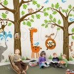 Dečija soba inspirisana motivom džungle